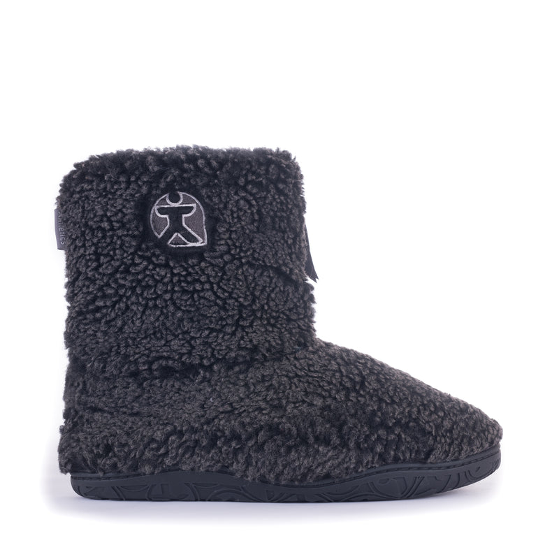 Snow Tipped Sherpa Boot - Washed Black