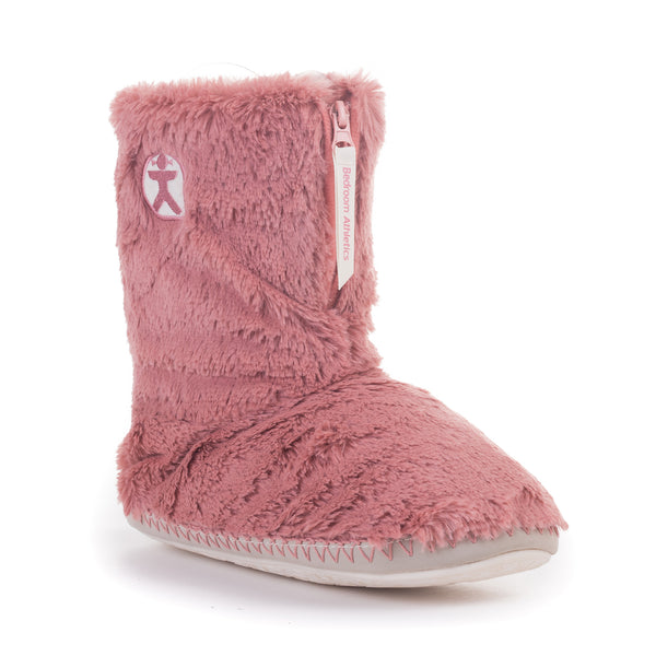 Monroe Faux Fur Boot - Canyon Pink/Cream
