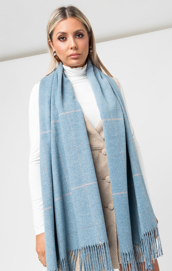 Tori Scarf – Denim Blue