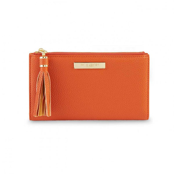 TASSEL FOLD OUT PURSE I BURNT ORANGE