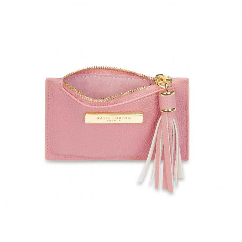 TASSEL CARD HOLDER I PINK
