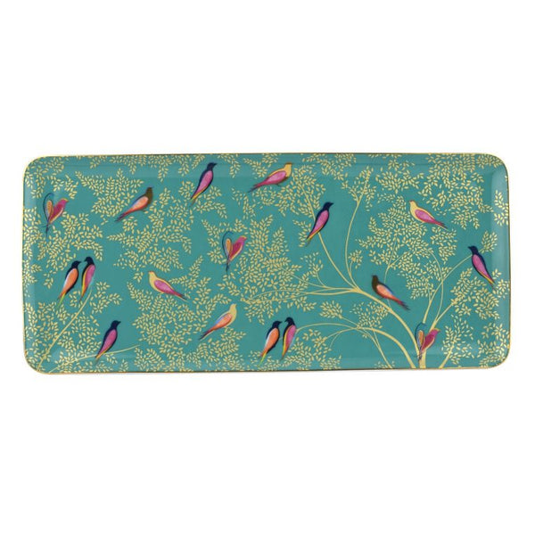 Sara Miller London Portmeirion Chelsea Sandwich Tray Green