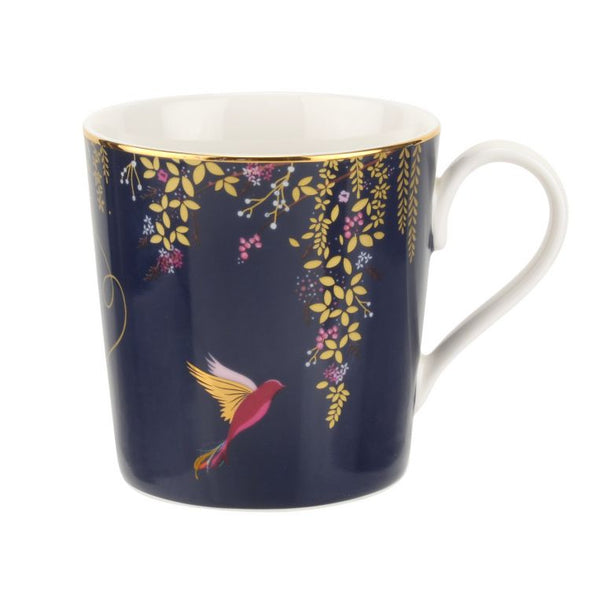 Sara Miller London Portmeirion Chelsea Mug - Navy