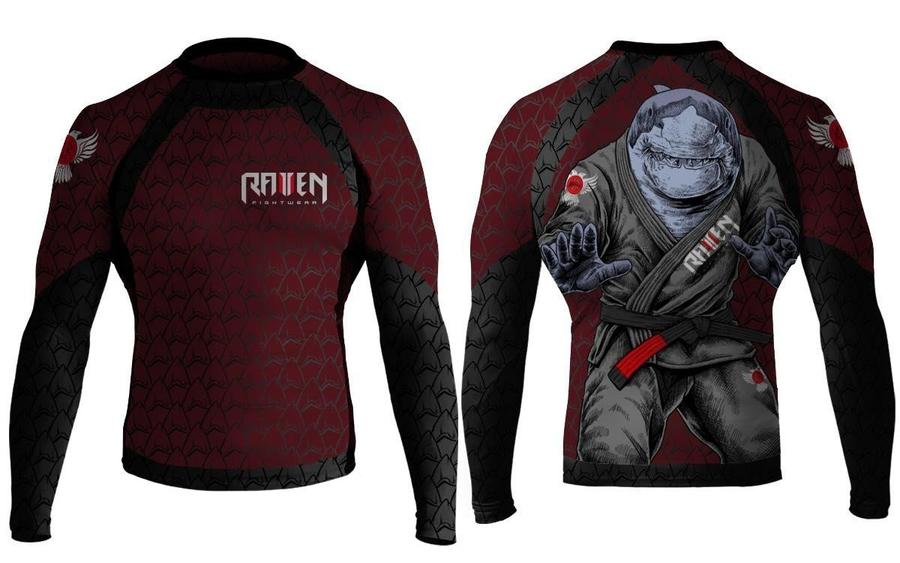 Shark Attack Rash Guard