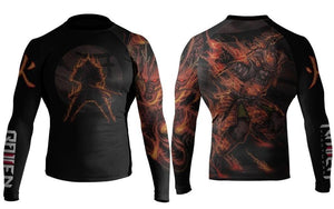 Elements Rash Guard - Fire