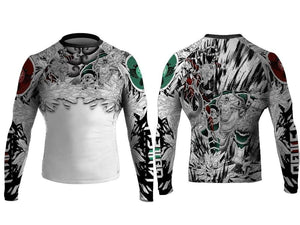 Battle of the Gods Rash Guard - Mokey and Bull King