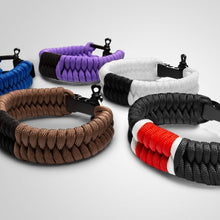 Load image into Gallery viewer, Paracord Jiu Jitsu Bracelet