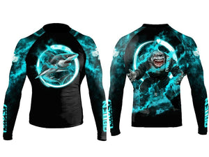 Masters of Jiu Jitsu Rash Guard - Great White