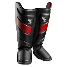 Load image into Gallery viewer, T3 Striking Shin Guards - Black/Red