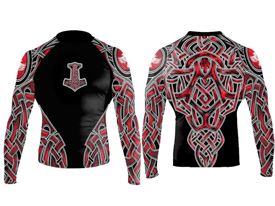 Nordic 2.0 Junior Rash Guard - Red