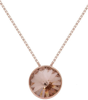 Vintage Rose Gold Plating Sterling Silver Necklet