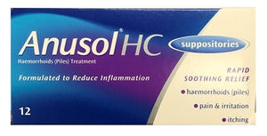 Aherns Pharmacy Kerry Anusol Suppositories