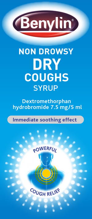 Non Drowsy Dry Cough syrup 125ml