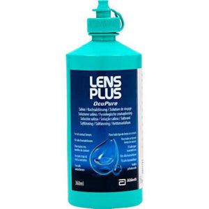 Load image into Gallery viewer, OcuPure Lens Plus Saline Solution 360ml