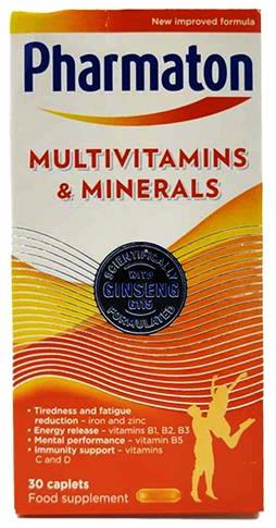 Load image into Gallery viewer, Multivitamin & Minerals 30 capsules