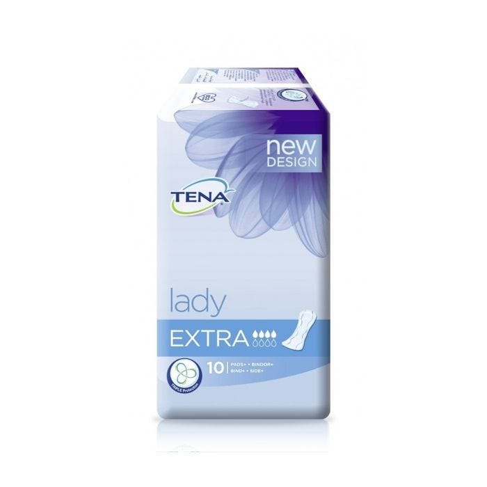 Load image into Gallery viewer, Tena Lady Extra 10 Pads