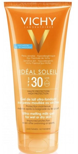 Load image into Gallery viewer, Ideal Soleil Ultra melting milk-gel SPF 30 200ml