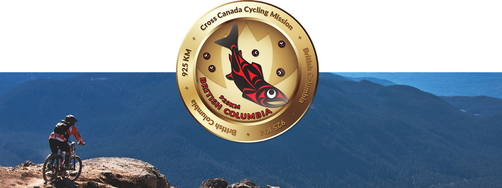 British Columbia Virtual Cycle Mission Medallion