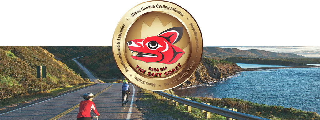 East Coast Virtual Cycle Mission Medallion