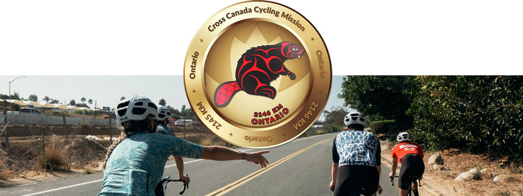 Ontario Virtual Cycle Mission Medallion
