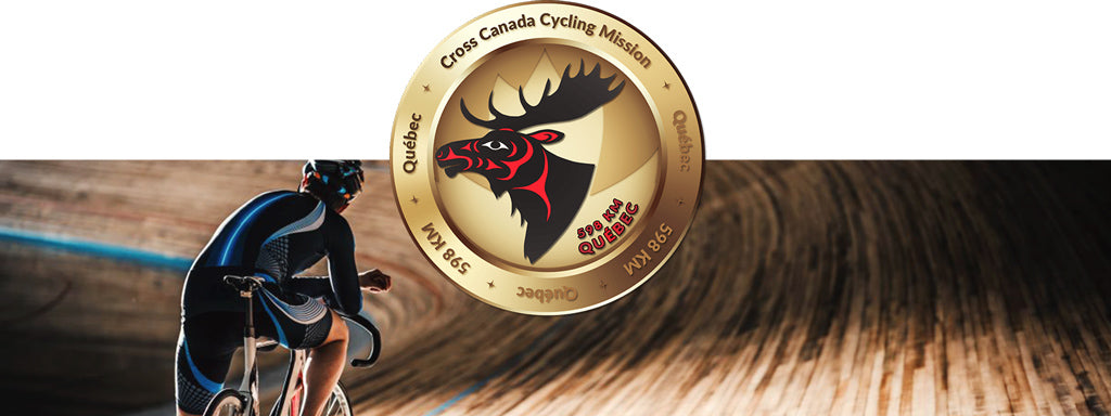 Quebec Virtual Cycle Mission Medallion