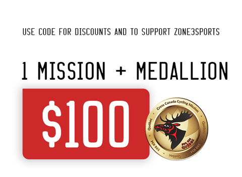 Virtual Cycle Mission exclusive Zone3sports Athlete Mission price