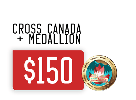 Virtual Cycle Mission exclusive Zone3sports Athlete Cross Canada Mission price