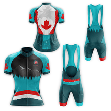 Load image into Gallery viewer, Image of cyclist gear featuring coast Salish artwork