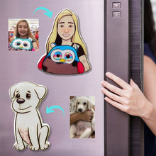Load image into Gallery viewer, Illustrated Fridge Magnet