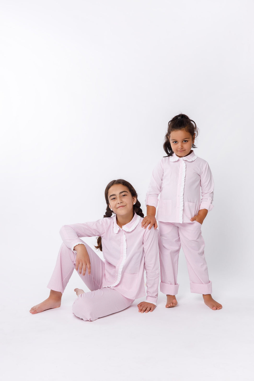 Pink Stripe Pajamas