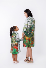Load image into Gallery viewer, Jungle Silk Dress - Mother