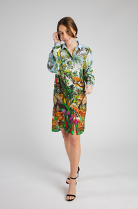 Jungle Silk Dress - Mother