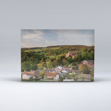 Load image into Gallery viewer, Post Card of Dunster, with its castle