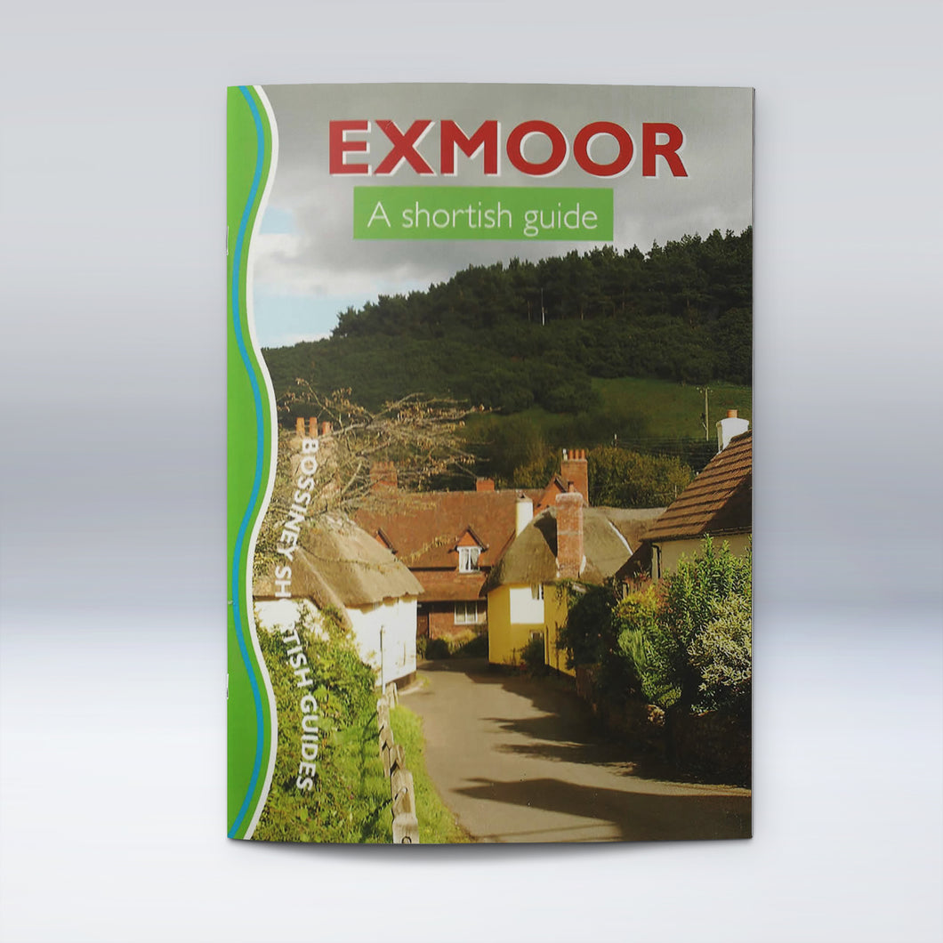 Exmoor - A Shortish Guide, walking guide cover