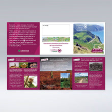 Load image into Gallery viewer, CareMoor for Exmoor Donation Gift Card, showing internal spread