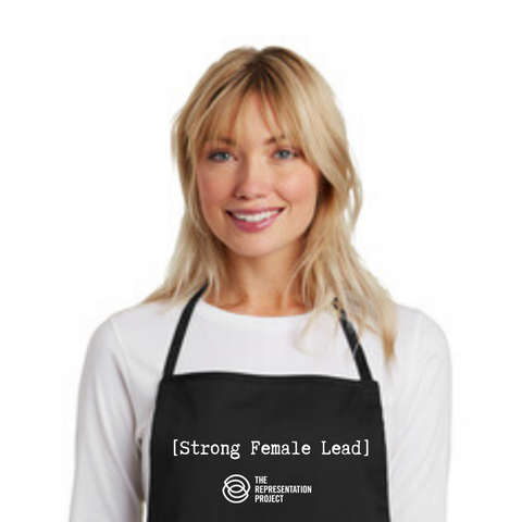 [Strong Female Lead] Full Length Black Apron