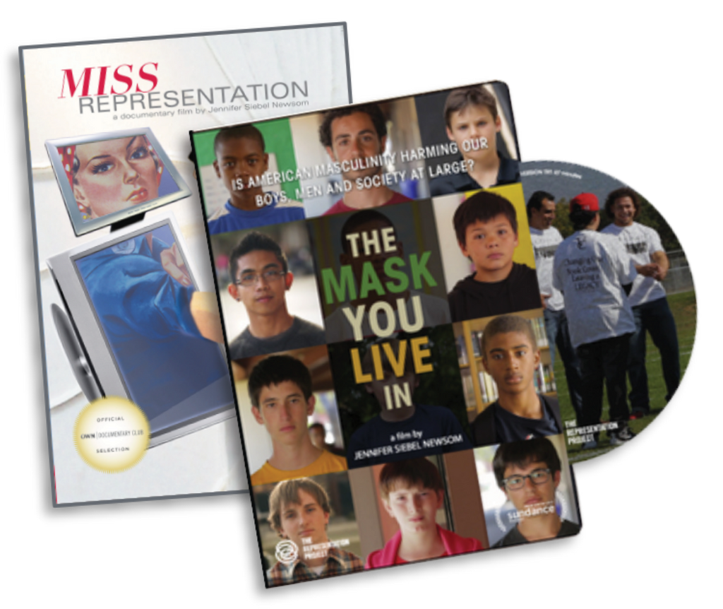 The Mask You Live In and Miss Representation Educational DVDs: Extra Copies