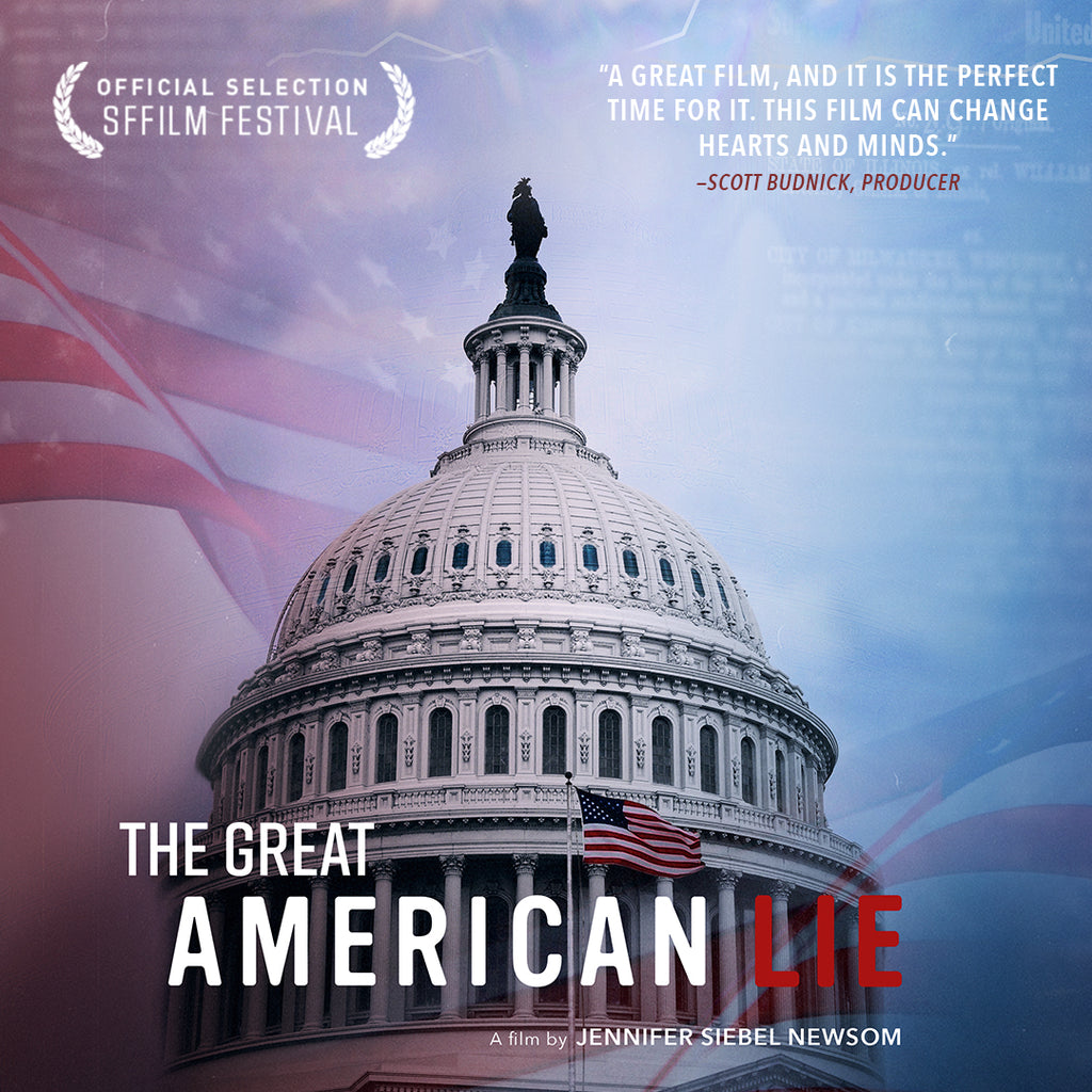 The Great American Lie Streaming Version with Educational DVD, PDF Curriculum, PPR, & DSL for Secure Networks