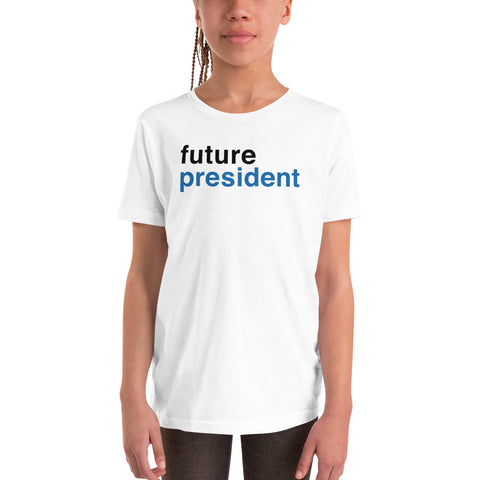 Future President Youth Short Sleeve T-Shirt