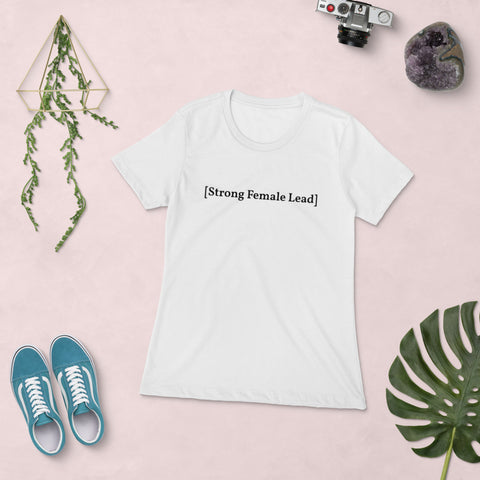 [Strong Female Lead] Women's T-shirt, White or Grey