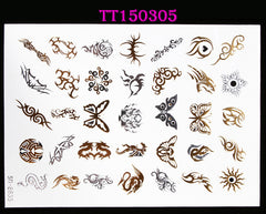 BEADY Temporary Tattoo Tribal Jewelry Set 2
