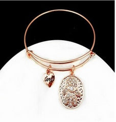 Hamsa Love Rose Gold Hand