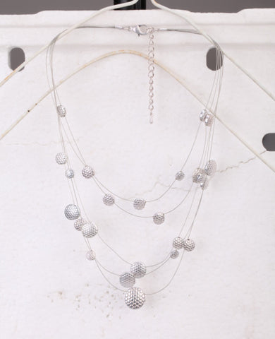 Bridal Universe Necklace in Silver