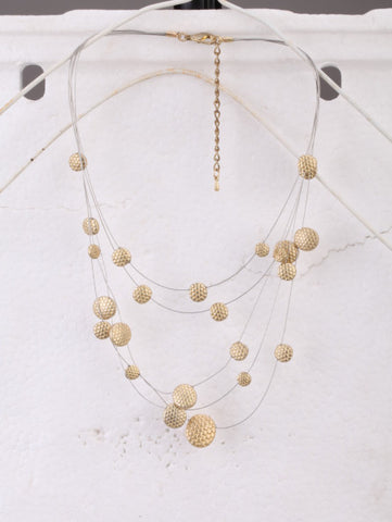 Bridal Universe Necklace in Gold