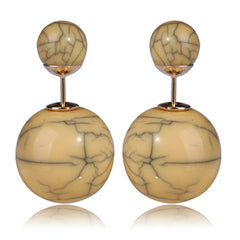 fashionista tribal earrings luxury earrings Beautiful earrings jewelry fashion pearl earrings gold silver earrings