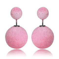 Gum Tee Mise en Style Tribal Earrings - Velvet Baby Pink