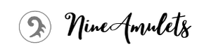 NineAmulets logo is a unique hand made and one of a kind jewelry