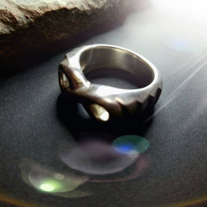 One of a kind infinity ring