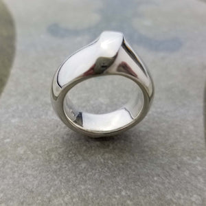Love ring with bold design