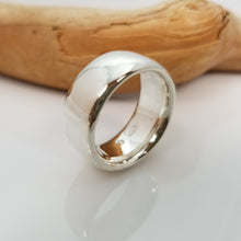 Cargar imagen en el visor de la galería, Full Moon Sterling Silver.925 Ring | Wide long walled ring
